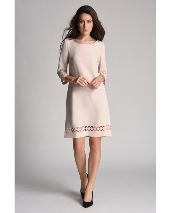 Three Quarter Sleeve Dress Deena