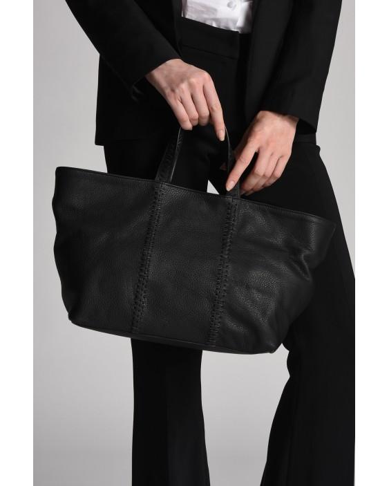 Genuine Leather Tressy Handbag