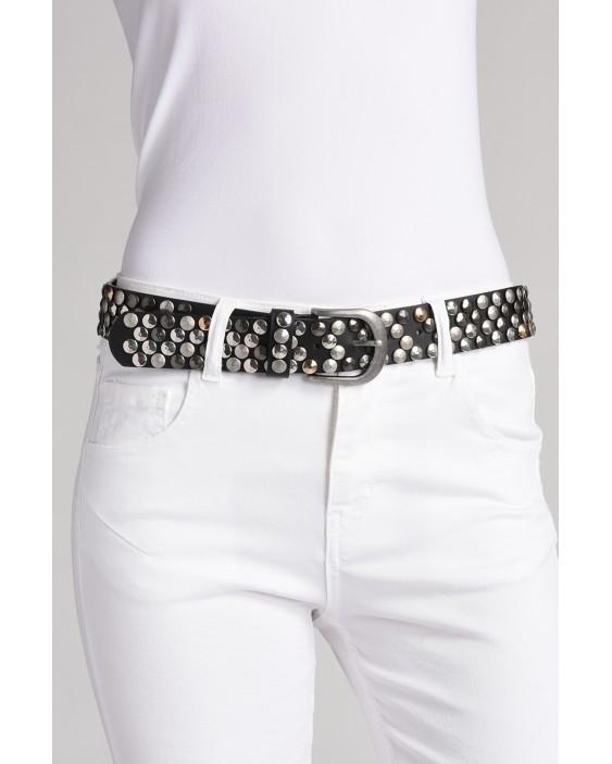 Black Chloé belt in genuine leather