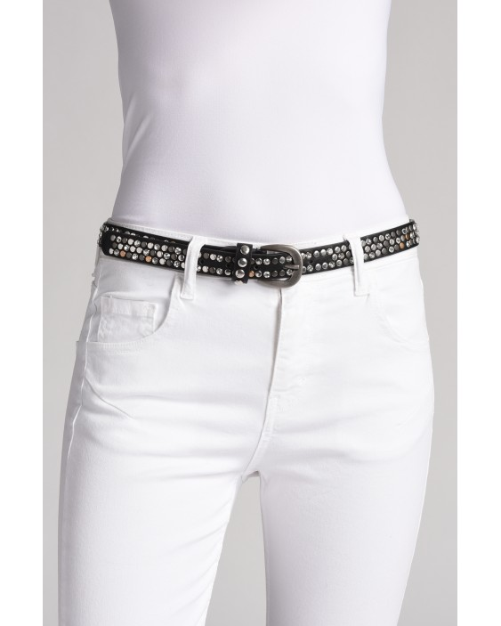 Finella belt in genuine leather