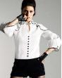 White Missary Shirt 100% coton